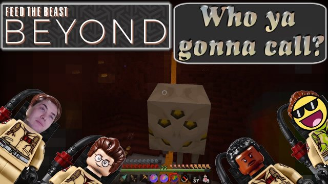 Ghastbusters unterwegs mit Woot um Bauch.  Let's play Minecraft FTB Beyond [E24] [German/Deutsch]