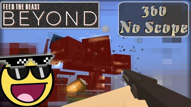 3 Wither und 1 Nether Drache. GG EZ!  Let's play Minecraft FTB Beyond [E26] [German/Deutsch]