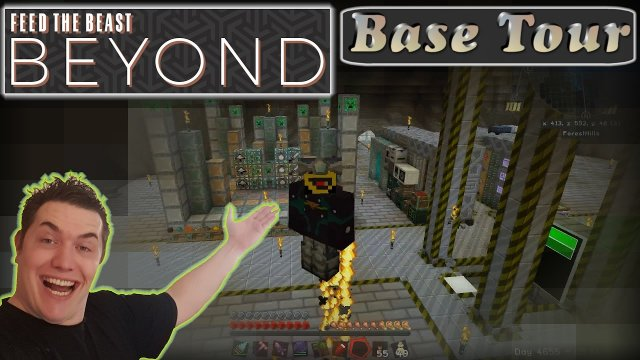 Meine Base! (Zählt das as VLog?)  Let's play Minecraft FTB Beyond Special [German/Deutsch]