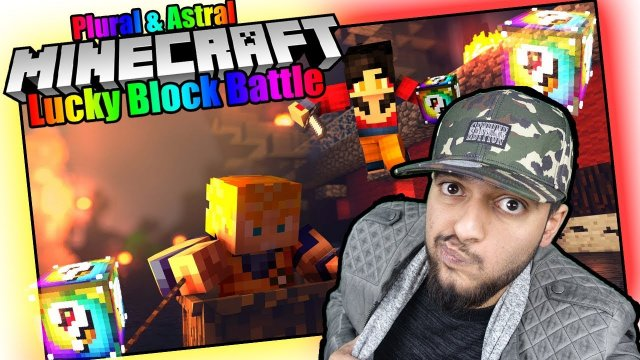 Minecraft - ASTRAL & PLURAL LUCKY BLOCK BATTLE | OP ITEMS (Deutsch / German lets Play) | VanishTV