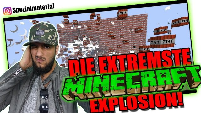 Minecraft - Die EXTREMSTE 100k TNT EXPLOSION! (Deutsches / German Lets Play) | Insta Runde VanishTV