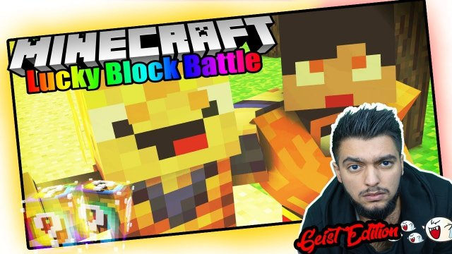 Minecraft - LUCKY BLOCK BATTLE | Der terroristen Minecraft GEIST! - (Deutsch/ German Lets Play)
