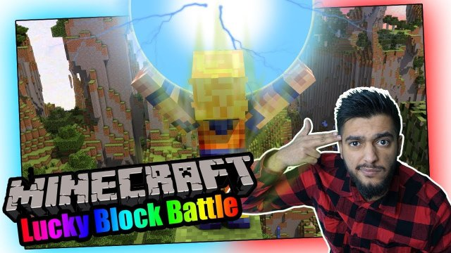 Minecraft - LUCKY BLOCK BATTLE | Der Legendäre Super Saiyajin! (Deutsch/ German Lets play) VanishTV