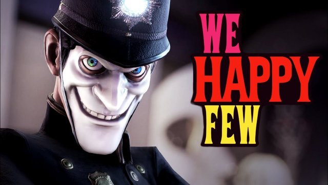 Models am ausrasten! - 105 - We Happy Few (2018)