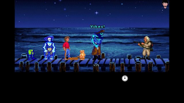 "Let's Play ""Back to the Future Part III : Timeline of Monkey Island"" 002 - #backtothefuture"