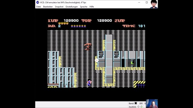 "Let's play ""Alien Syndrome"" C64"