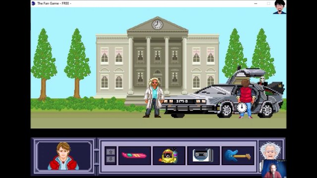 "Let's play ""The Fan Game - Back to the Future Part V"" 001 