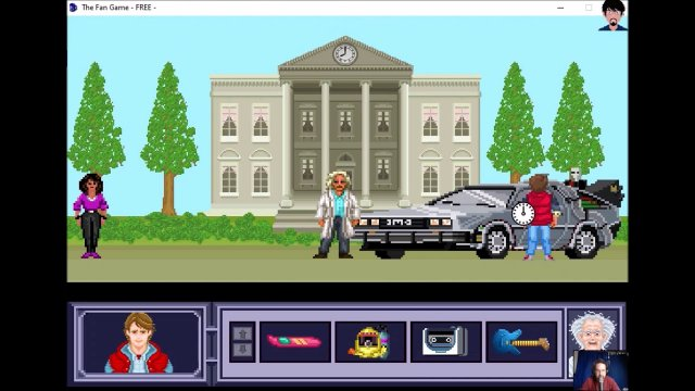 "Let's play ""The Fan Game - Back to the Future Part V"" 002 