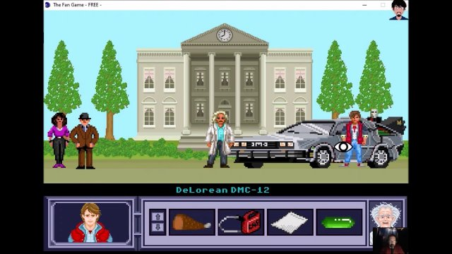 "Let's play ""The Fan Game - Back to the Future Part V"" 003 