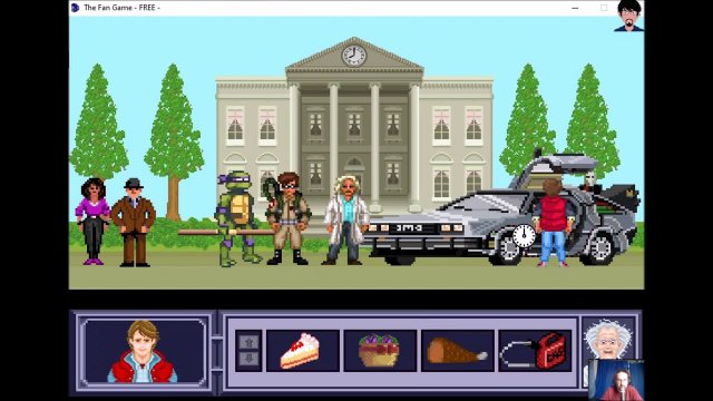 "Let's play ""The Fan Game - Back to the Future Part V"" 004 