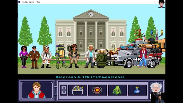 "Let's play ""The Fan Game - Back to the Future Part V"" 005 