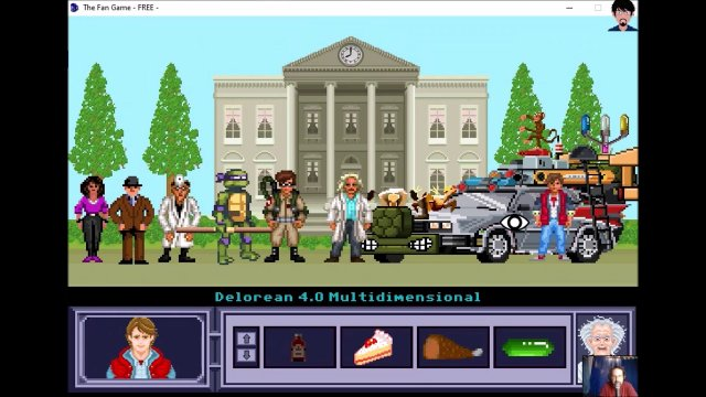 "Let's play ""The Fan Game - Back to the Future Part V"" 006 