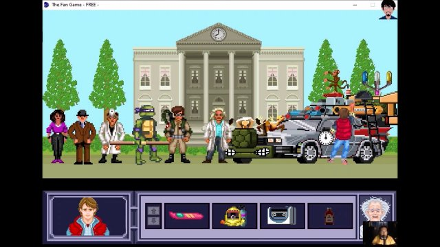 "Let's play ""The Fan Game - Back to the Future Part V"" 007 