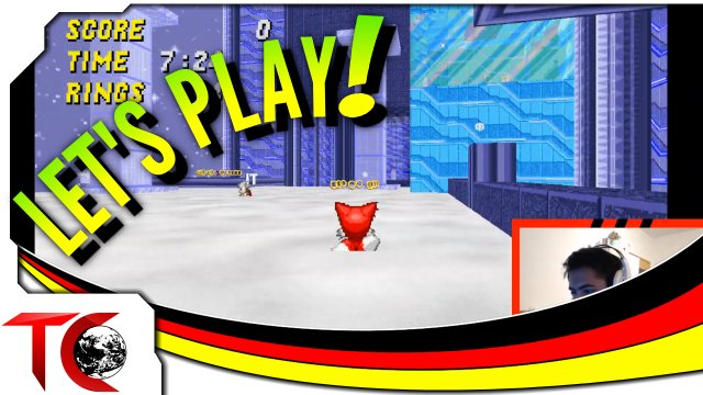 Let's Play Sonic Robo Blast 2 Multiplayer - Gamemode: Tag (German/Deutsch) - Sonic FPS?