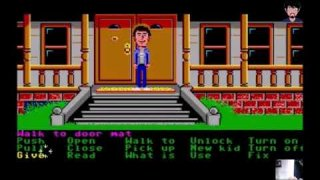 """Maniac Mansion"" Vergleich Apple II, PC DOS, C64, Atari ST, AMIGA, NES 