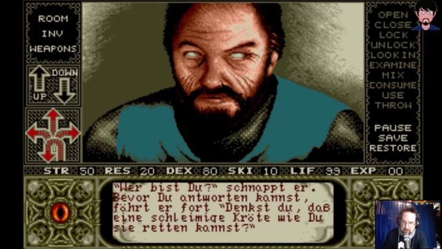 """Elvira: Mistress of the Dark"" Vergleich C64, PC DOS, AMIGA 