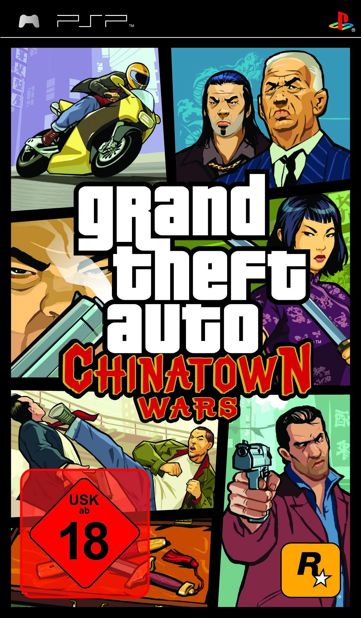 GTA CTW PSP FOB GER