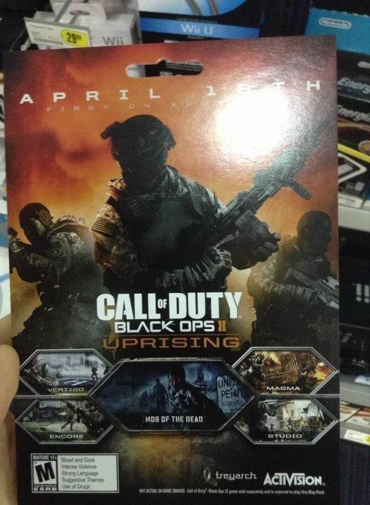Call of Duty: Black Ops 2 - Uprising DLC