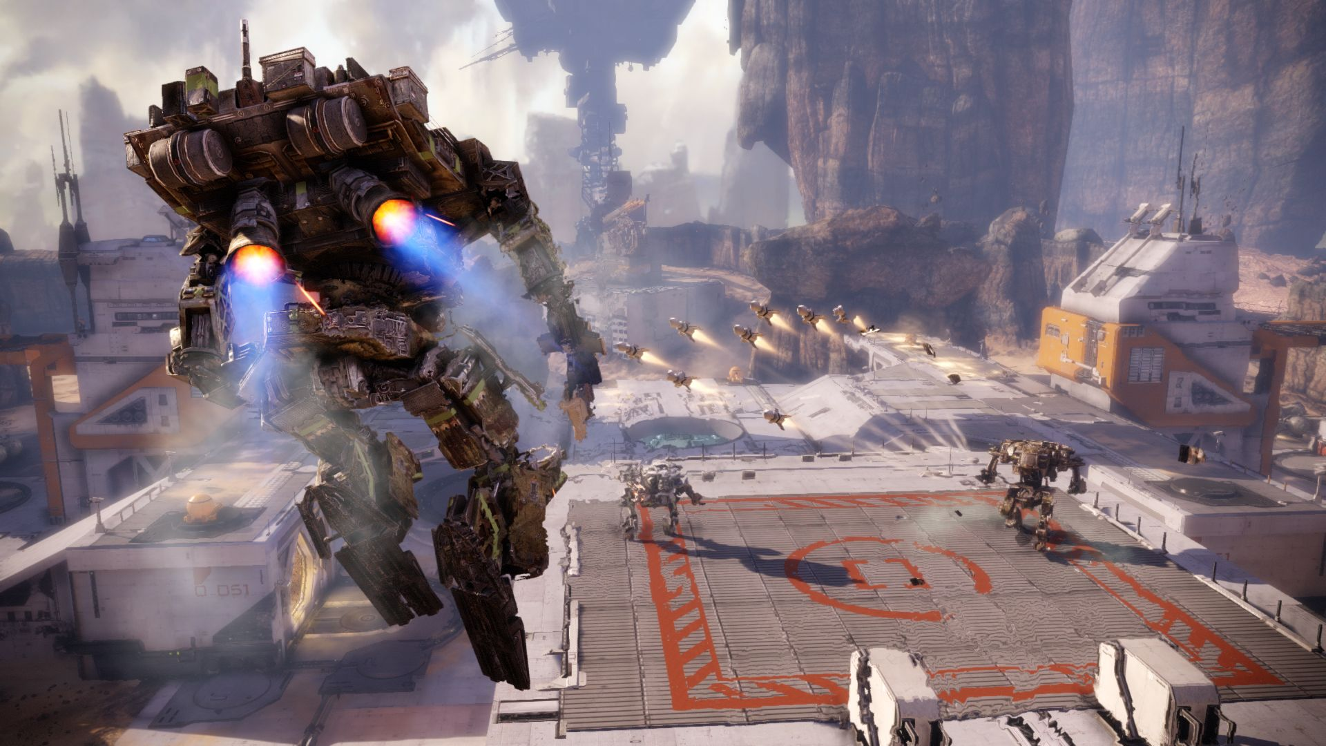 Hawken-New Map-Facility-Combat(2)