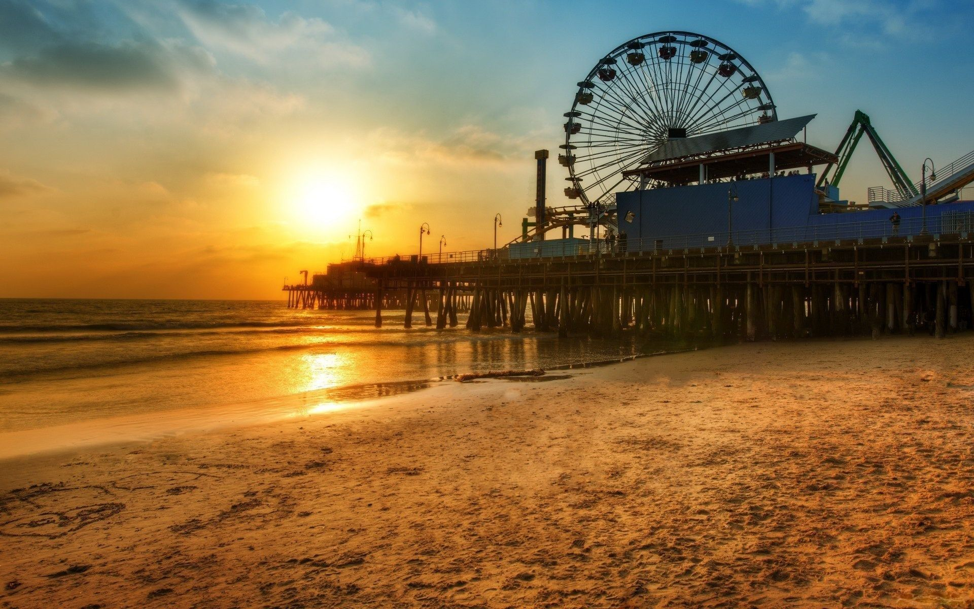 Santa-Monica-Pier-Los-Angeles-United-States