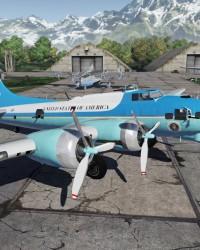 B-17 im Hangarbildschirm