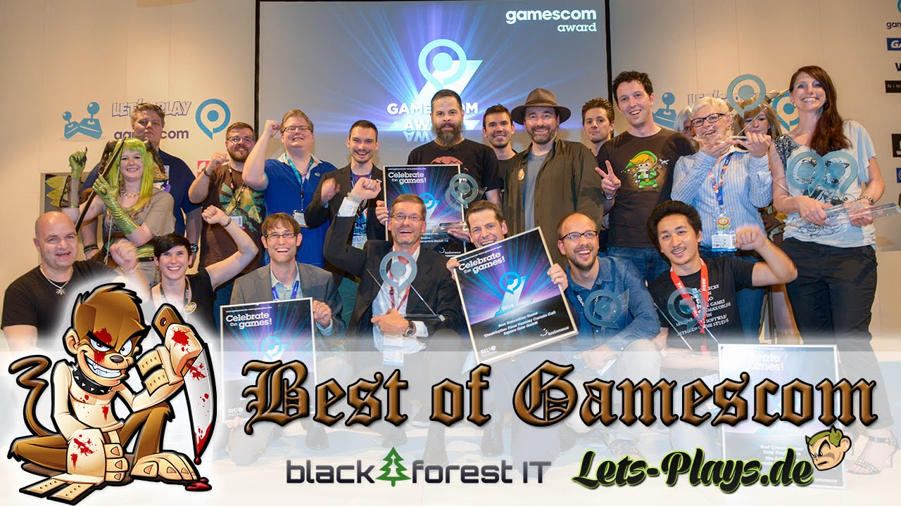 Video thumbnail for youtube video Best of Gamescom 2014 - SarazarLP im Interview - Lass los Lets Playen!