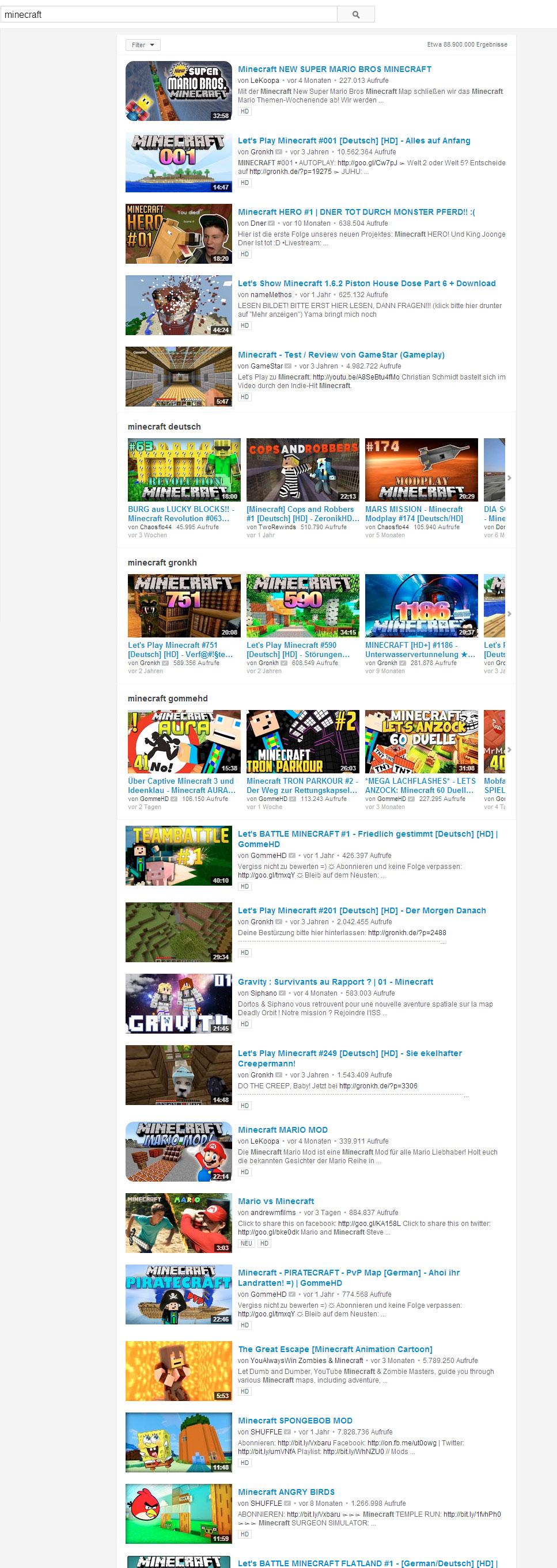 youtubeminecraftneu