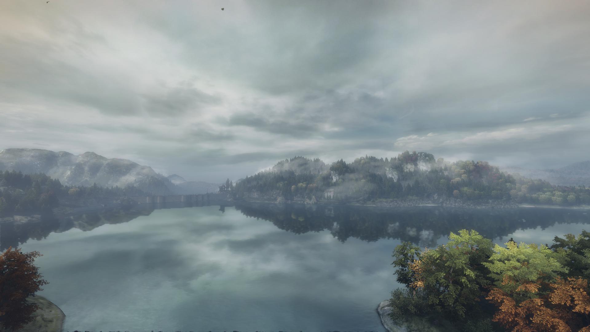 Realistische Entfernungen - von der Bahnbrücke zum Staudamm. Hier wird viel gelaufen