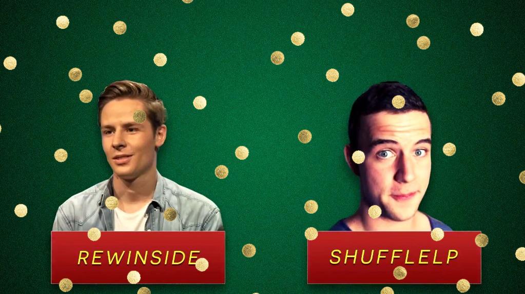 Die Gewinner ShuffleLP und Rewinside