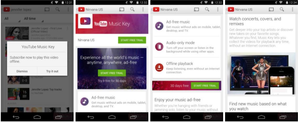 music key screenshots