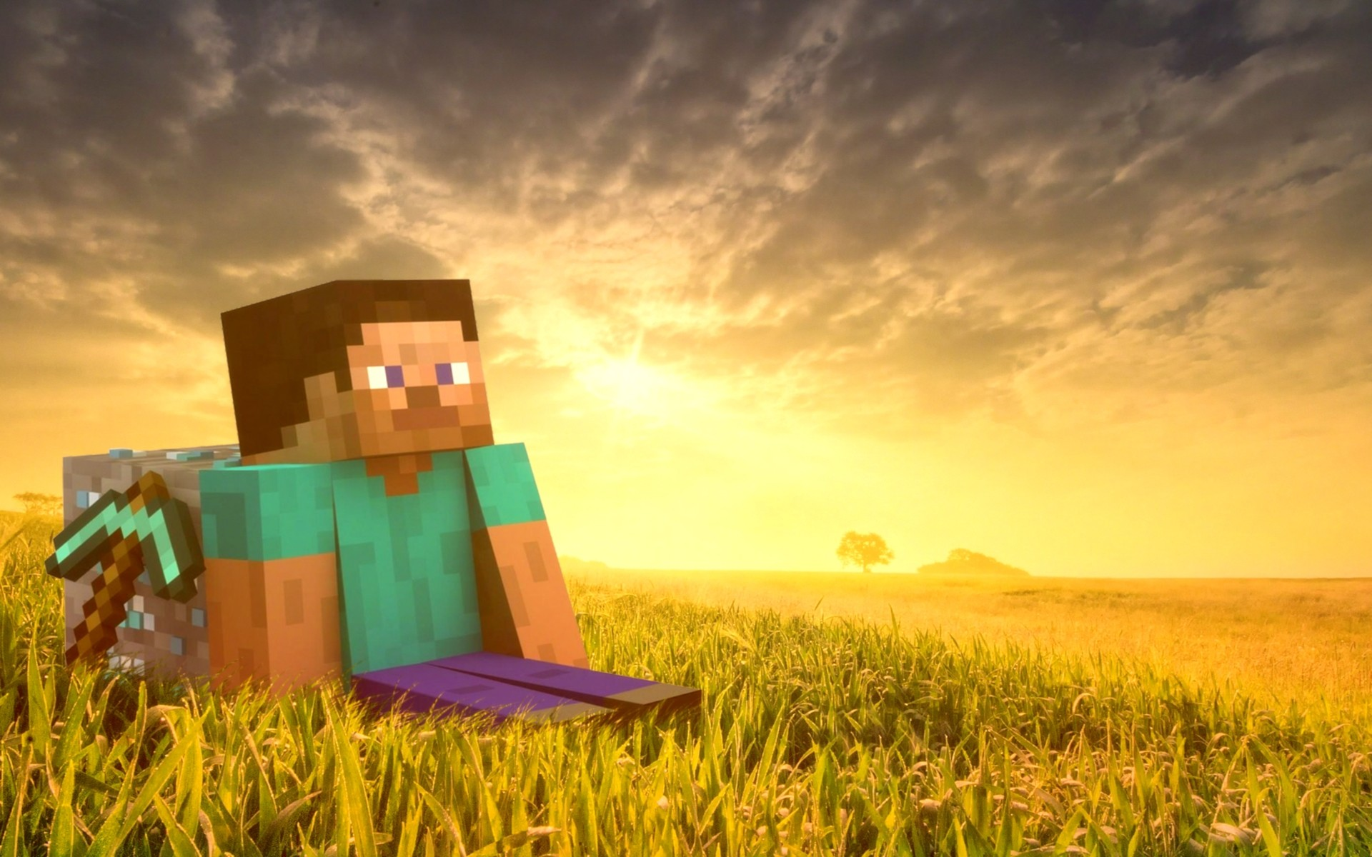 fondos-de-pantalla-de-minecraft-Steve-Minecraft-Wallpapers-HD-Wallpaper