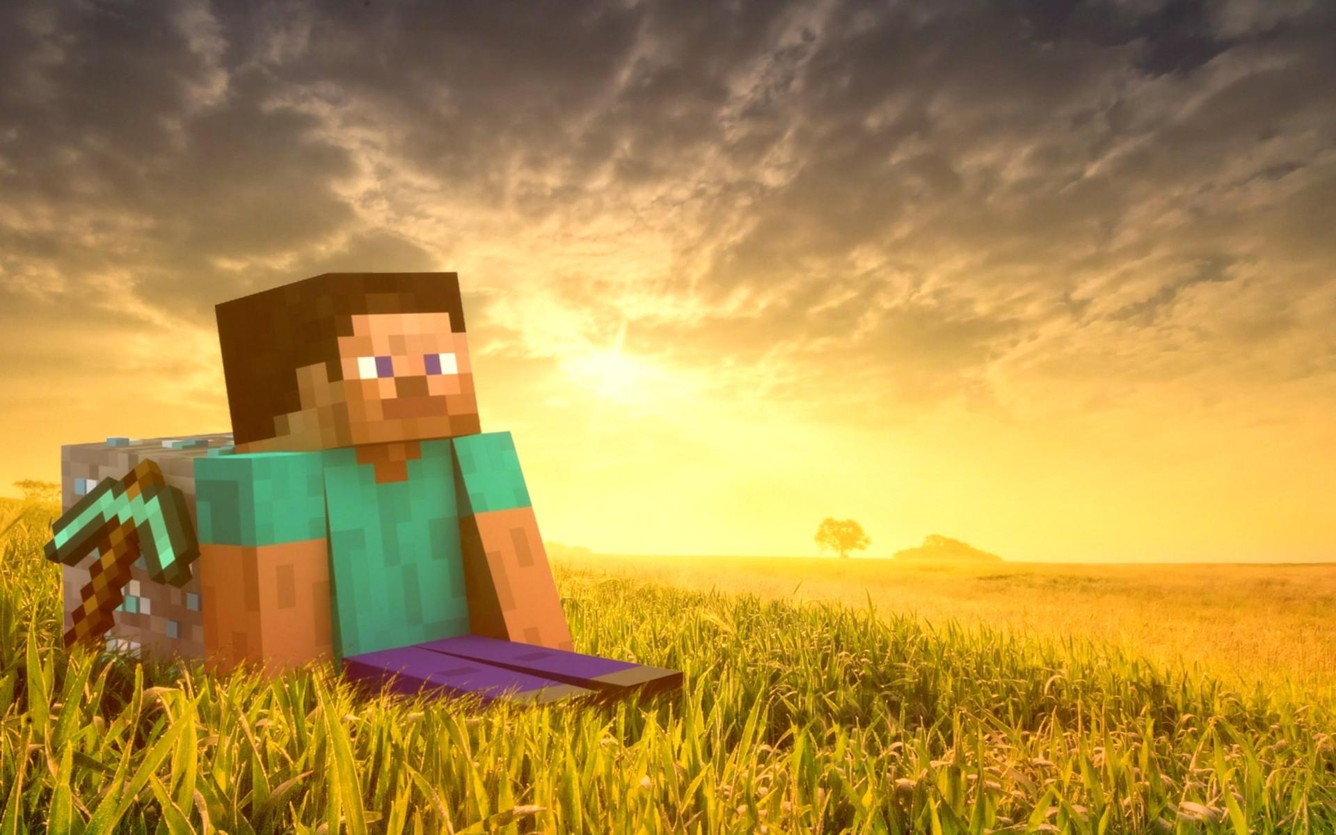 fondos-de-pantalla-de-minecraft-Steve-Minecraft-Wallpapers-HD-Wallpaper