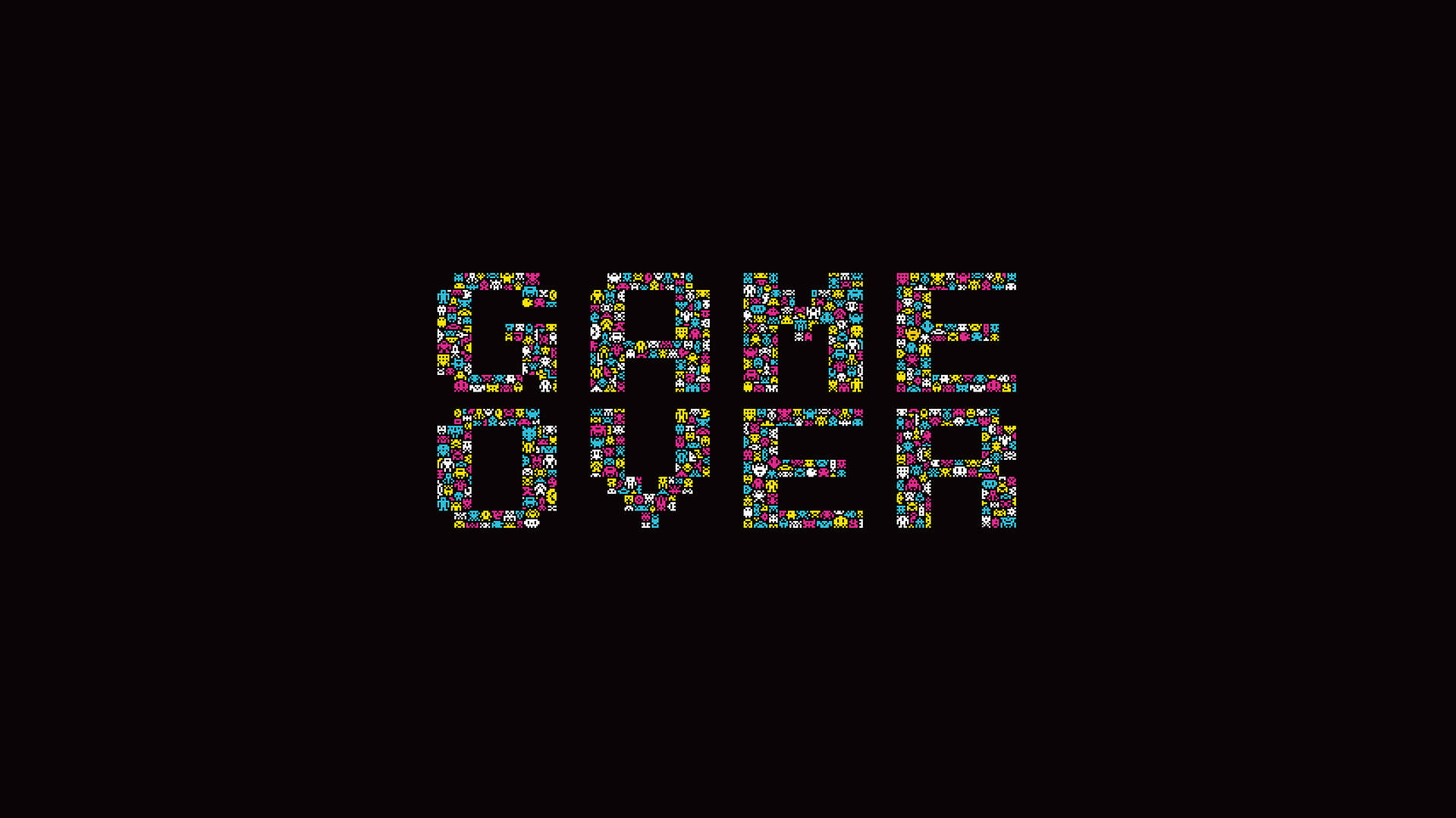 tumblr_static_game-over-space-invaders-dark-background-minimalistic-retro-games-simple-background-typography-video-games