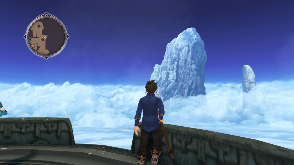 Eylsia, Heimat von Sorey und den Seraphim, liegt auf einem doch recht hohen Berg