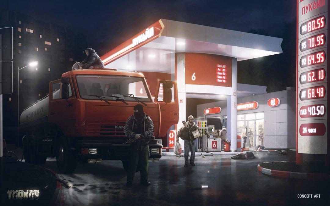 Escape from Tarkov - Tankstelle