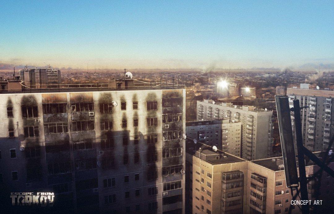 Escape from Tarkov - Stadtblick