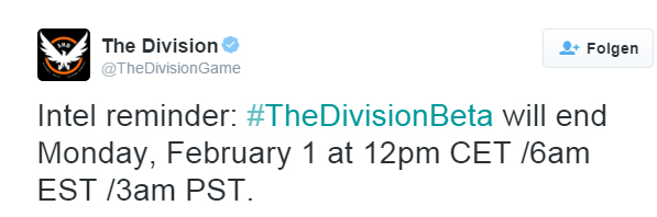 Twitter, The Division, Ubisoft, www.lets-plays.de
