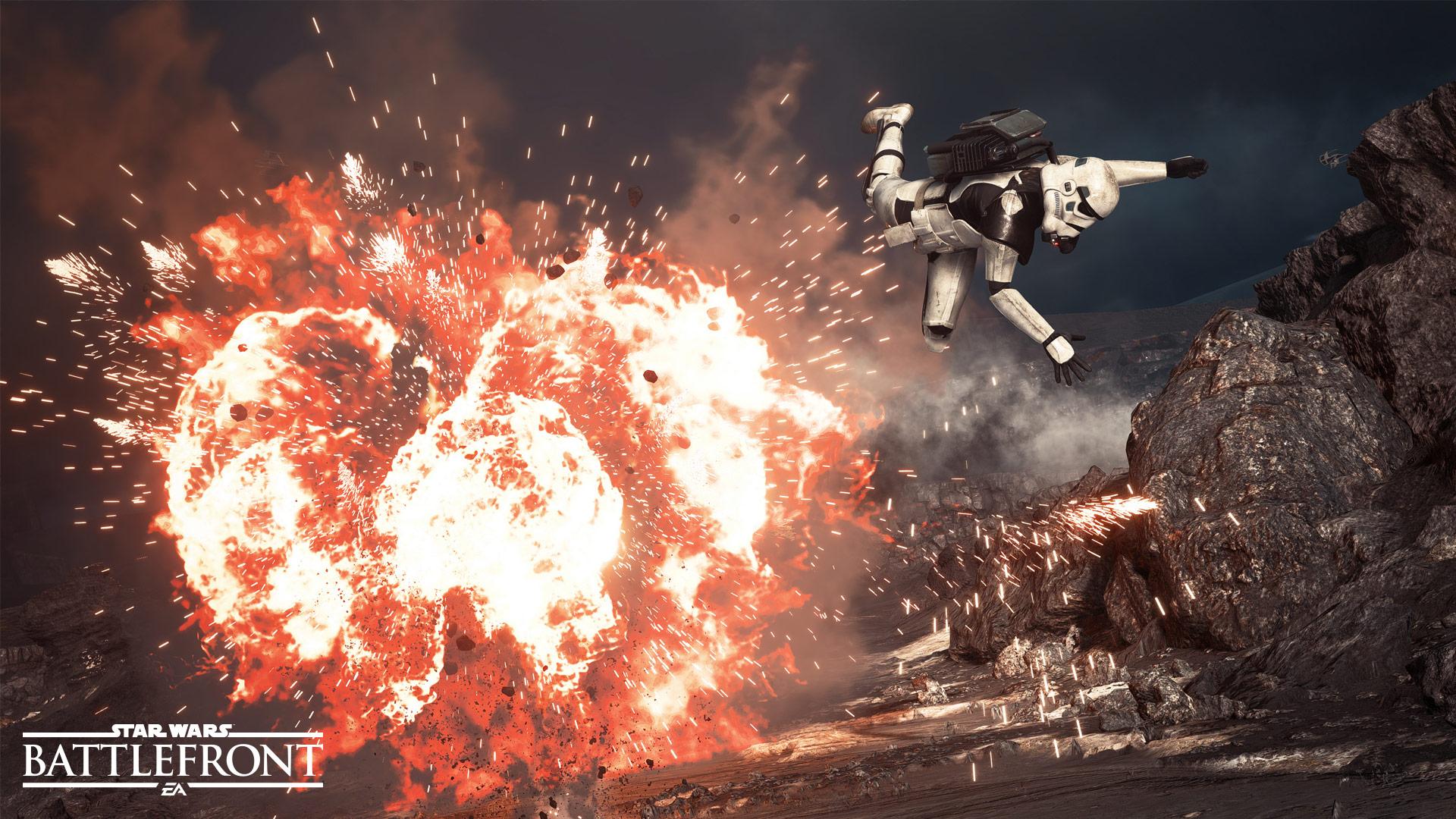 Battlefront, copyright ea