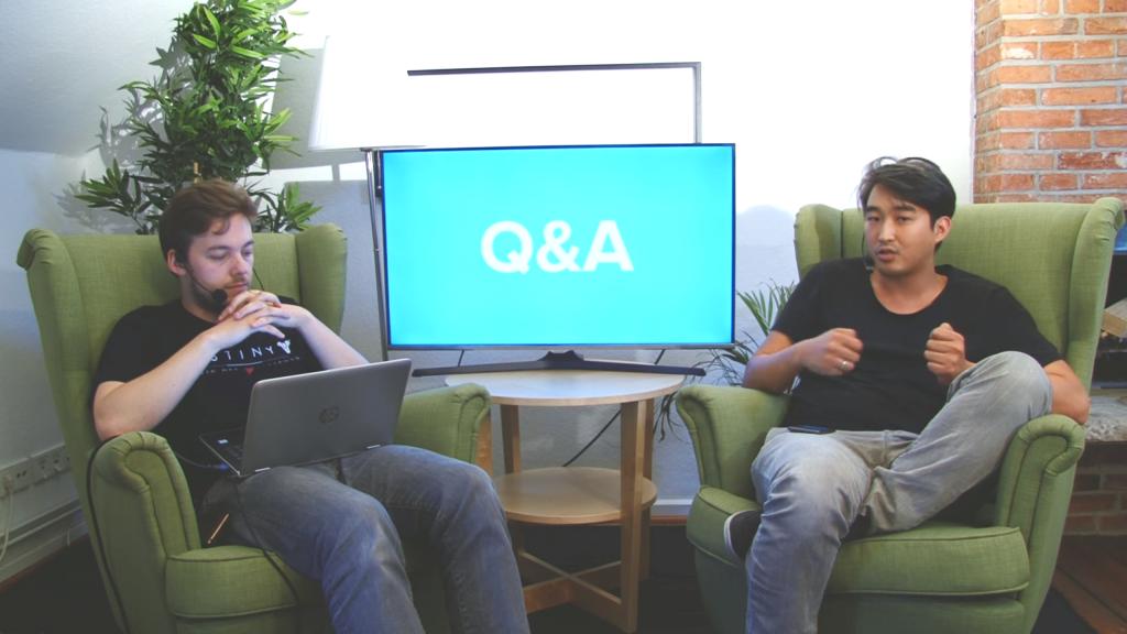 """Steffen und Budi beantworten Fragen der Community zum Umzug nach Youtube. Zum Beispiel die Frage ob """"Twitch vielleicht noch als Backup parallel laufen wird""""."""