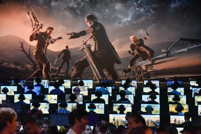 Square Enix auf der Gamescom 2016
