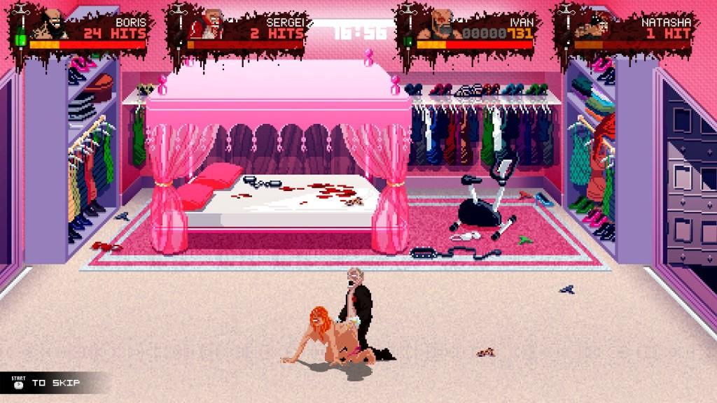 Die gleichzeitig lustigste und auch romantischte Szene des Spieles.
