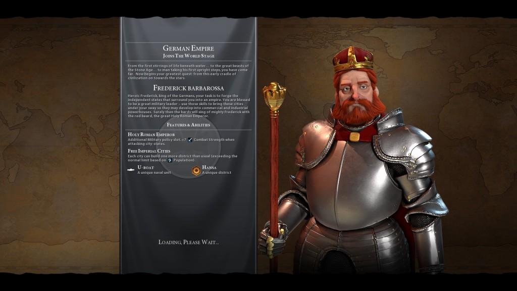 """Wir werden dieses Mal durch Friedrich dem I., oder auch Barbarossa (aus dem Italienischen für """"roter Bart"""") vertreten. Wenn Griechenland Gorgo und Perikles bekommt, kriegen wir dann in Zukunft noch Karl der Große oder noch einmal Otto von Bismarck?"""