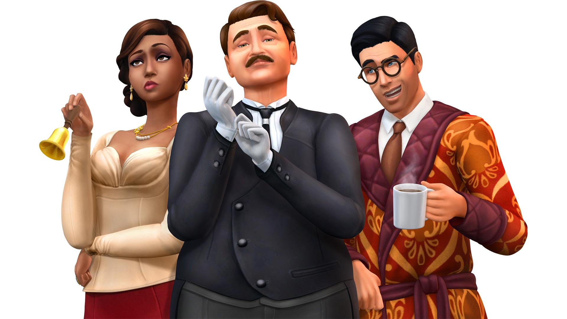 Die Sims 4 Vintage Glamour Accessoires Lets Playsde