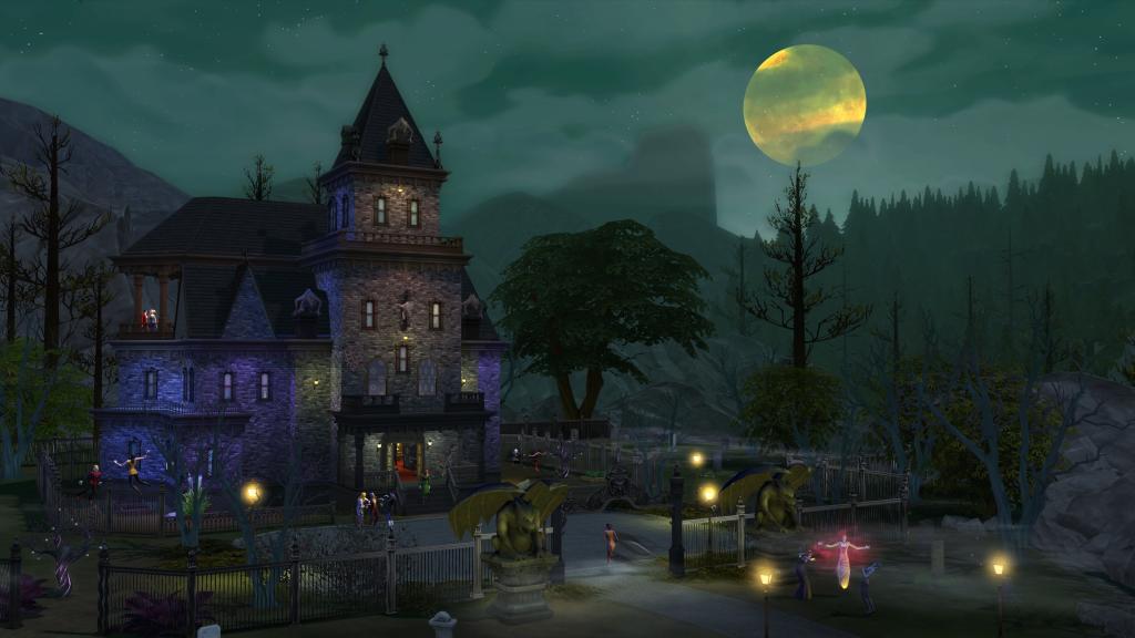 Ein gruseliges Vampirhaus
