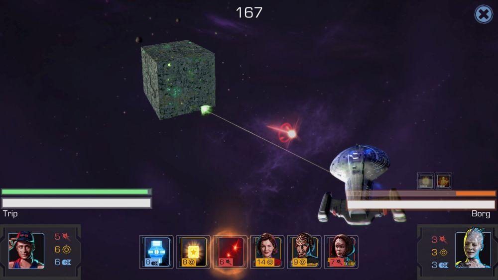 Star Trek Timelines - Weltraumkämpfe