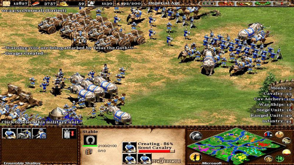 Age of Empires The Conquerors Screenshot2