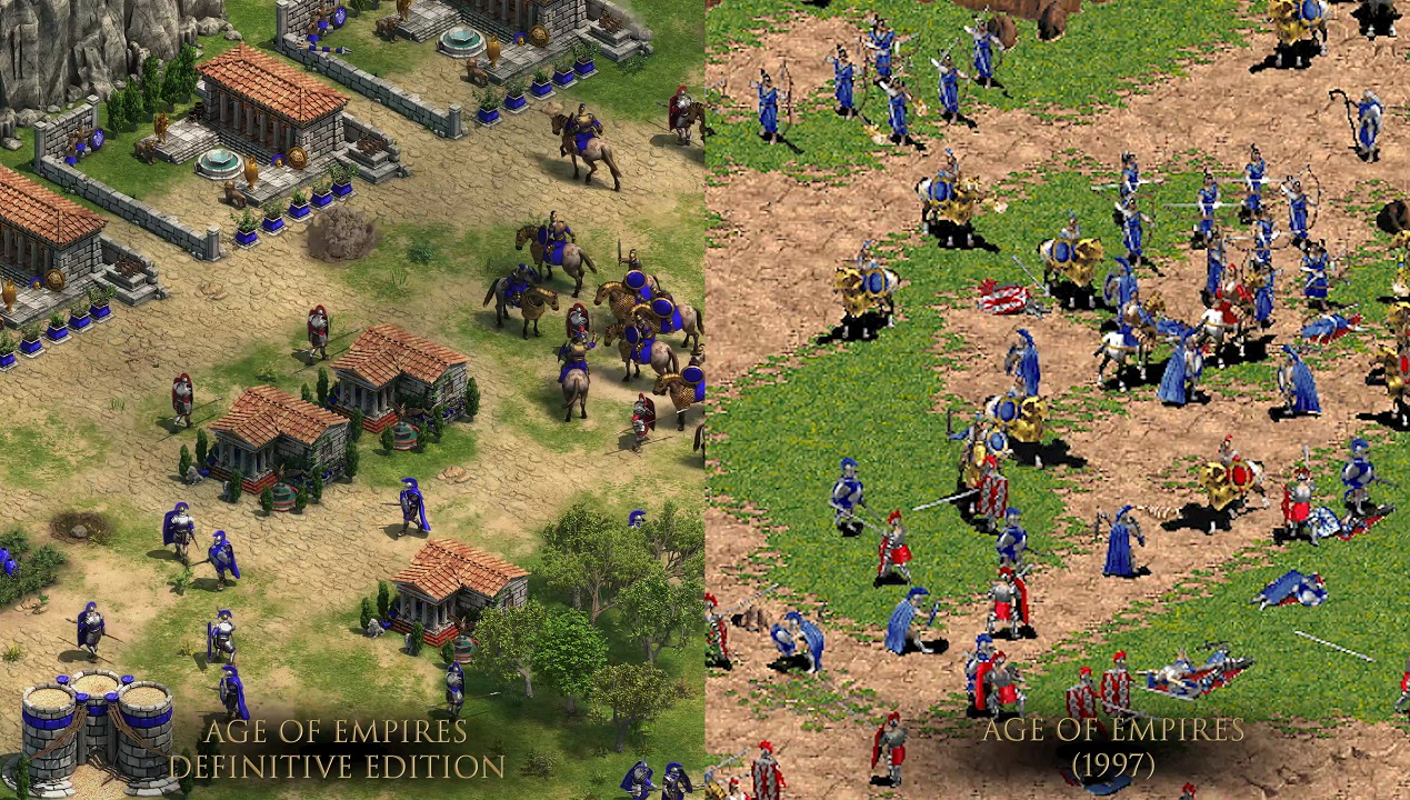 Age of Empires Grafik