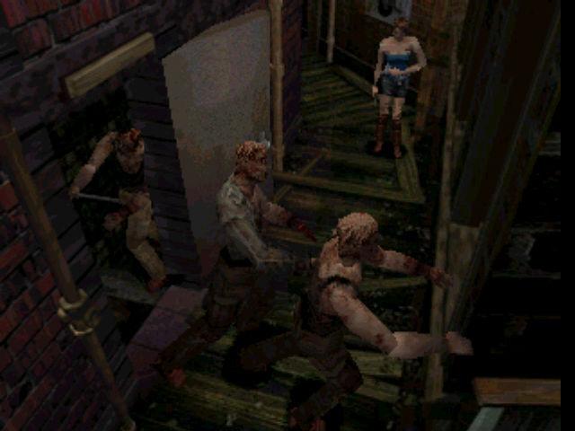 Resident Evil 3 Nemesis Zombies