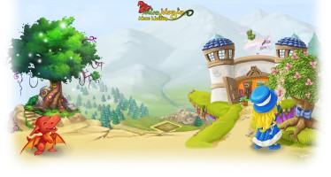 Magischer Zaubergarten mit Miramagia