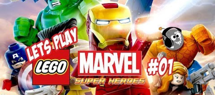 Lego Marvel Superheroes Lets Play
